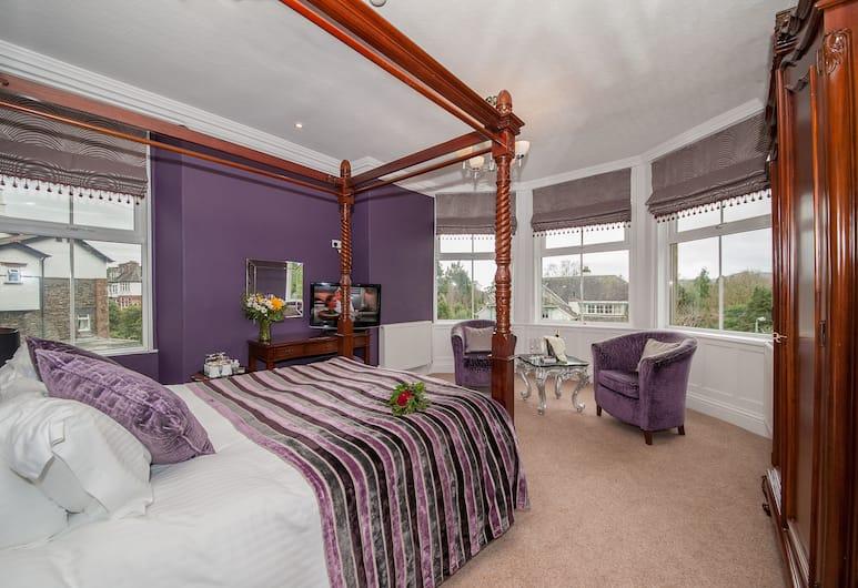 Wheatlands Lodge - Bed & Breakfast, Windermere, Deluxe Double Room, Guest Room