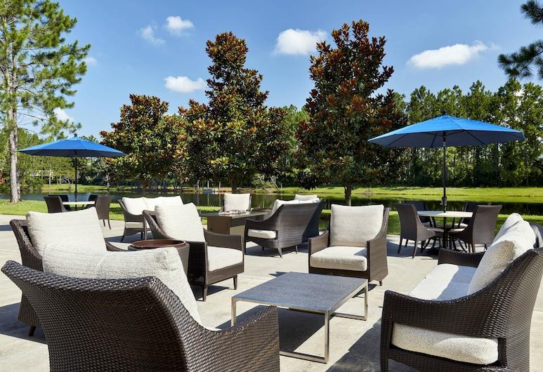 Sheraton Jacksonville Hotel, Jacksonville, Terase/iekšējais pagalms