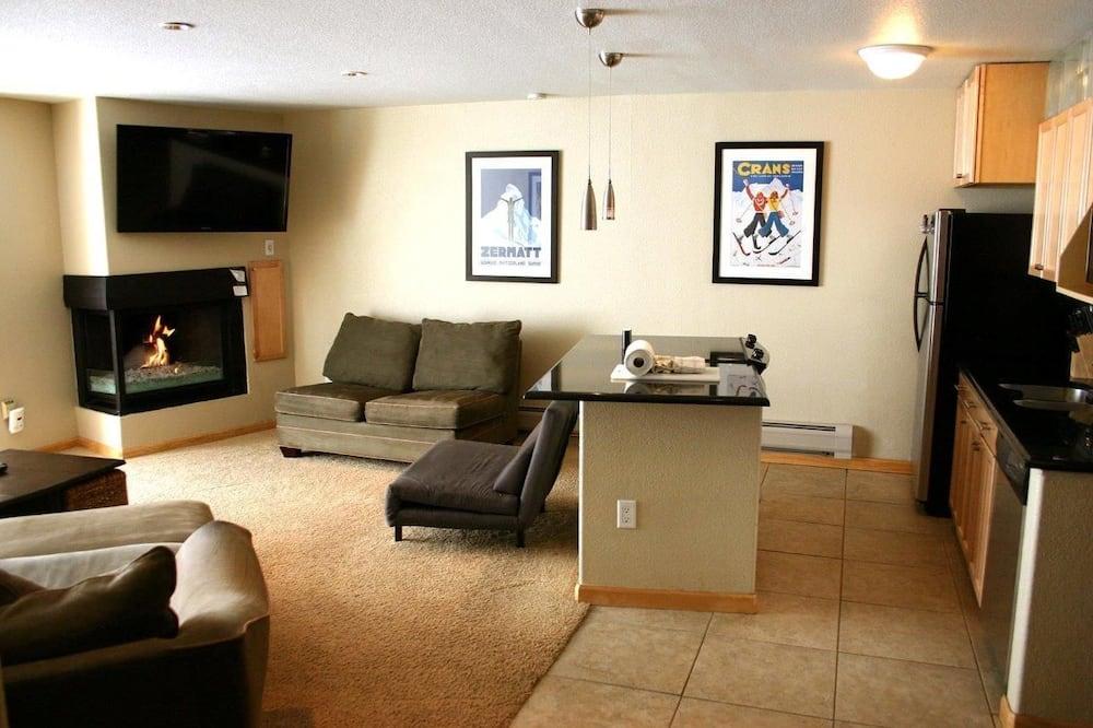 2 bedroom / 3 bathroom condominium - 客廳