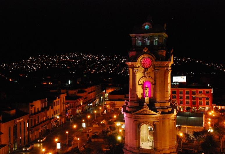 Hotel Emily, Pachuca, Zahrada