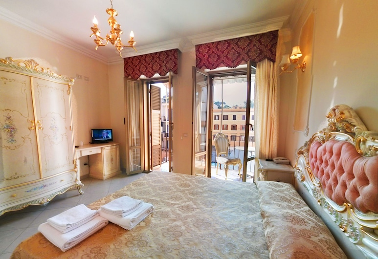 Imperial Rooms, Rome, Superior Double or Twin Room, Balcony