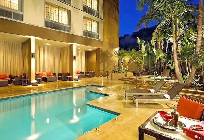 Courtyard by Marriott San Diego Mission Valley/Hotel Circle, סן דייגו, מרפסת/פטיו
