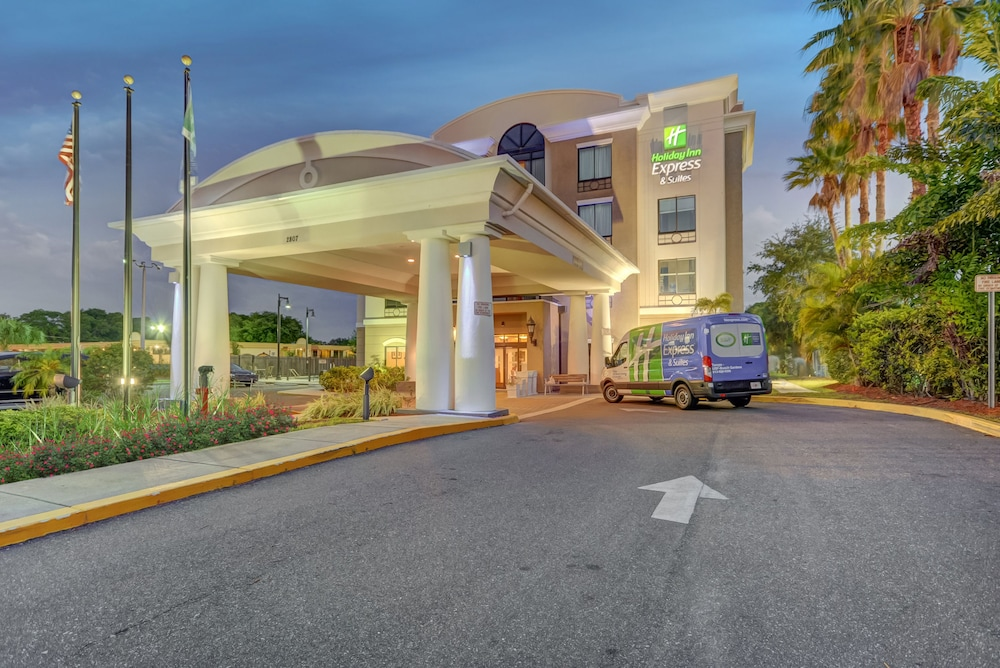 Book Holiday Inn Express Suites Tampa USF Busch Gardens Tampa