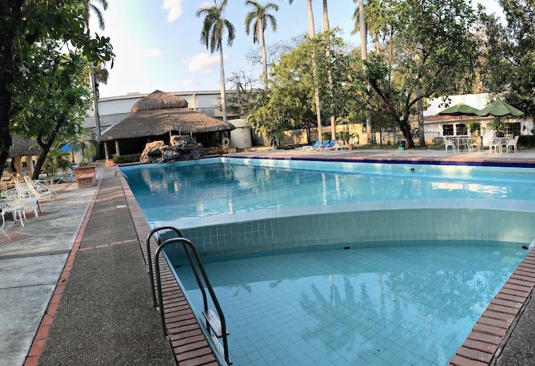Hotel Valles, Сьюдад-Вальес, Открытый бассейн