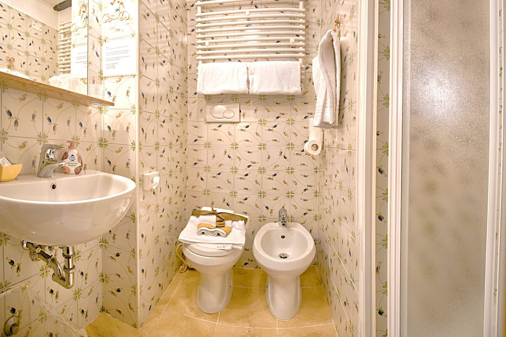 Pokój dwuosobowy z 1 lub 2 łóżkami typu Deluxe, prywatna łazienka - Łazienka