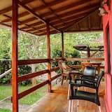 Habitación doble Confort, 1 cama doble o 2 camas individuales, balcón, vista al jardín - Balcón