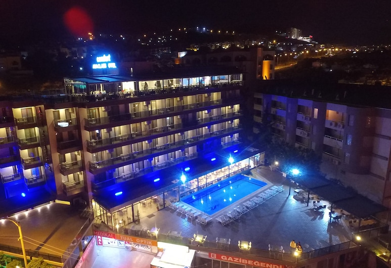 Comfort Ada Class Hotel, Kuşadasi, Pročelje hotela – navečer/po noći