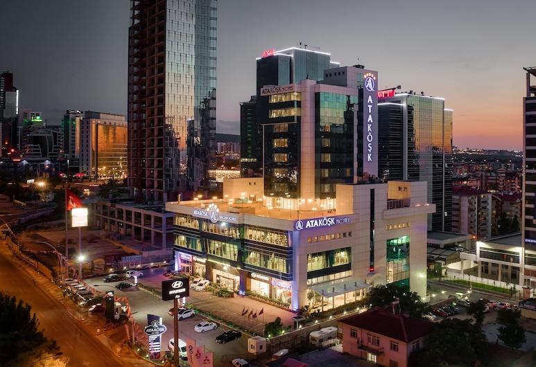 Atakosk Hotel, Анкара, Вид снаружи / фасад