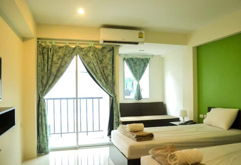 @ Love Place Hotel, Bangkok, Pokój z 2 pojedynczymi łóżkami, Salon