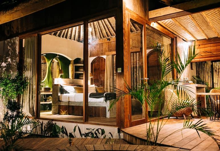 MAJO Private Villas, Gili Trawangan, Villa, 1 très grand lit, Coin séjour