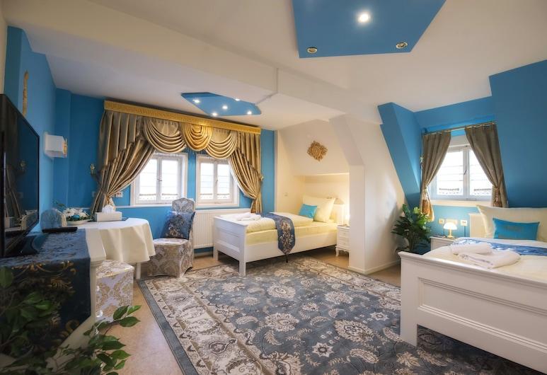 Hotel Schachtenburg, Schlitz, Deluxe-værelse med 2 enkeltsenge - 1 soveværelse - handicapvenligt - byudsigt, Værelse