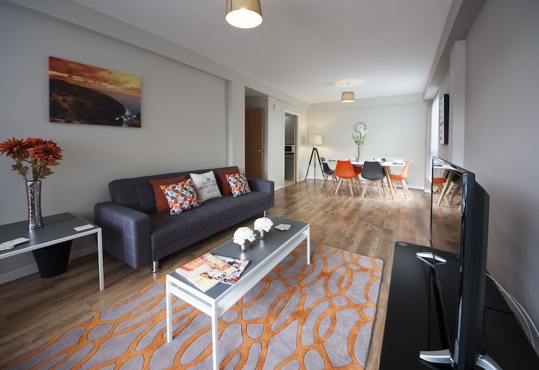 ByEvo Glasgow Airport Apartment 6, Paisley, Appartement, 2 chambres, Coin séjour