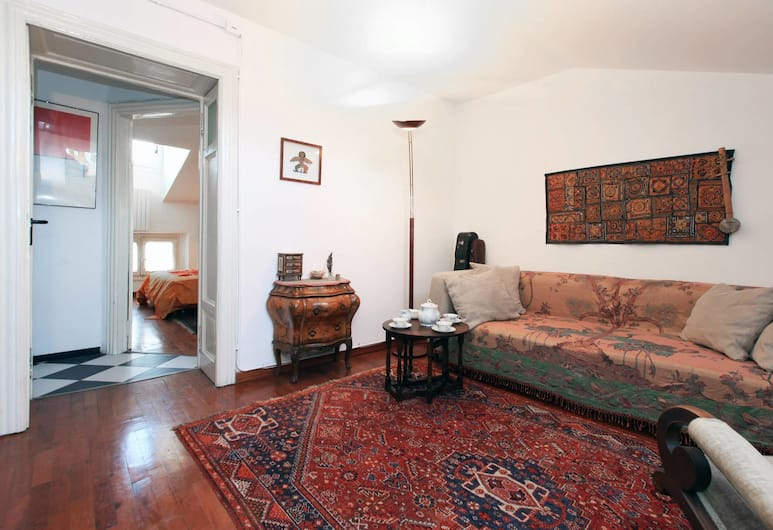 艾勒耶勒弗萊西出租公寓酒店, 米蘭, 公寓, 1 間臥室, 客廳