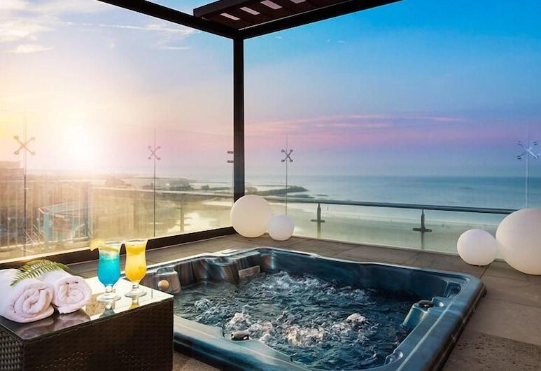 Utop Ubless Hotel, Jeju City, Außen-Whirlpool