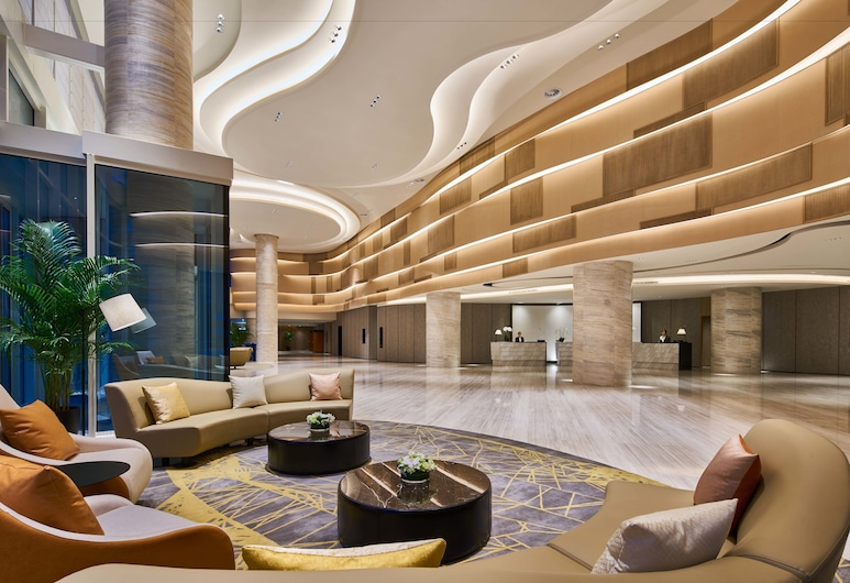 ザ キューブ ホテル上海虹橋 (上海虹桥绿地铂骊酒店), 上海, ロビー