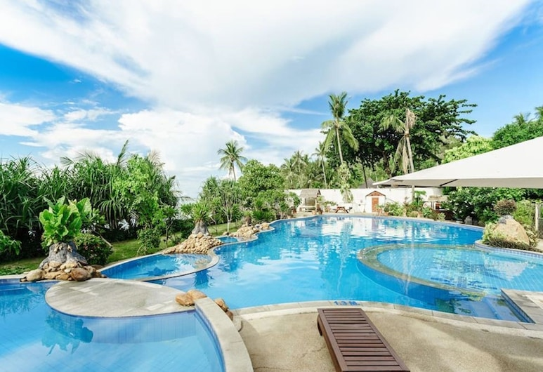 3 Bedroom Villa Beach Front Resort TG25, Koh Samui, Outdoor Pool