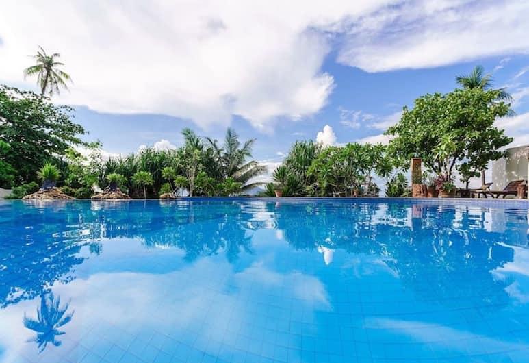 3 床別墅海濱度假村 TG25, 蘇梅島, 室外泳池