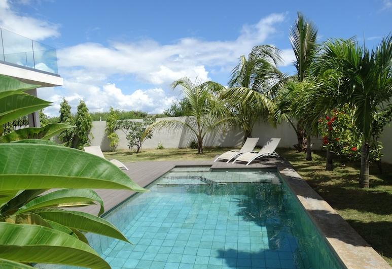 Villa Soleil, Trou aux Biches, Hồ bơi ngoài trời