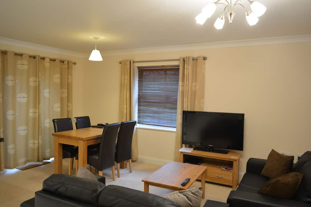 Executive Apart Daire, 2 Çift Kişilik Yatak - Oturma Odası