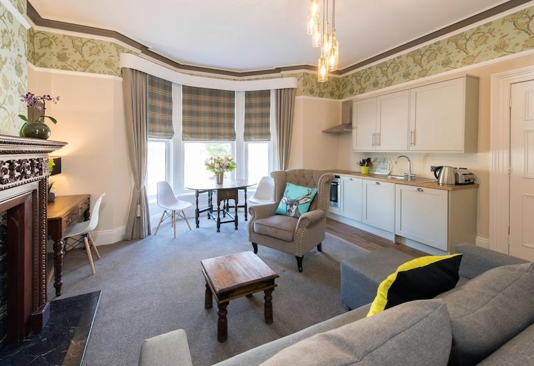 Harrogate Central Suites, Harrogate, Apartament, 1 sypialnia, Salon