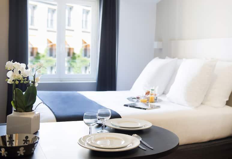 Suites et Hotel Helzear Etoile, Paris, Suite Junior, 1 chambre, coin cuisine, Chambre