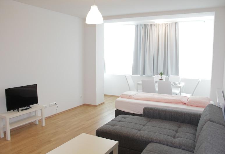 Betariel Apartments S22, Βιέννη, Deluxe Διαμέρισμα, 2 Υπνοδωμάτια, Περιοχή καθιστικού