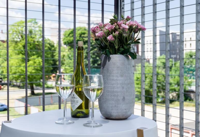 Elite Apartmens Sadova Deluxe, Gdansk, Apartmán typu Deluxe, 1 spálňa (Sadowa), Balkón