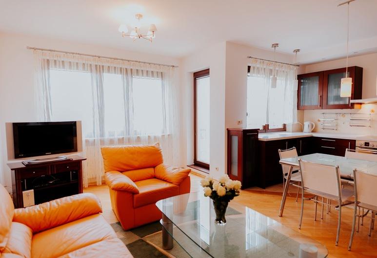 Elite Apartments Jelitkowski Dwor, Gdansk, Apartmán, 2 spálne, Obývacie priestory