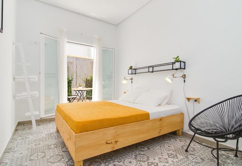 Zalamera B&B, Valencia, Habitación doble, 1 cama de matrimonio, patio, Habitación