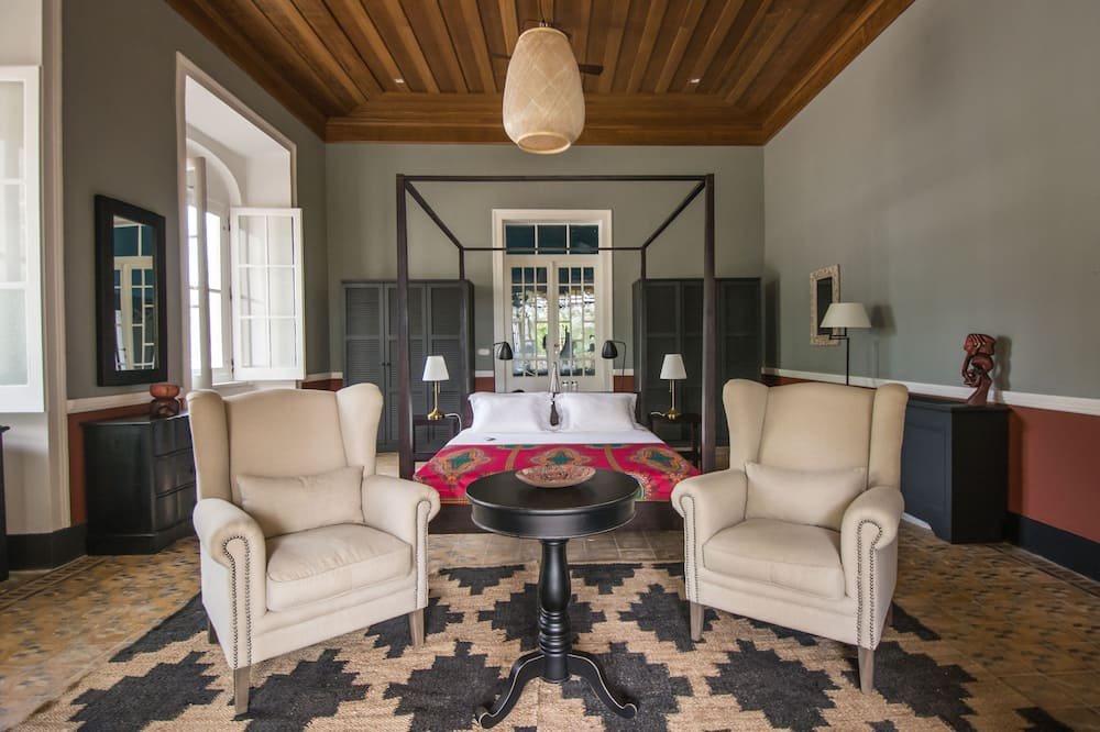 Colonial House, Master suite - Powierzchnia mieszkalna