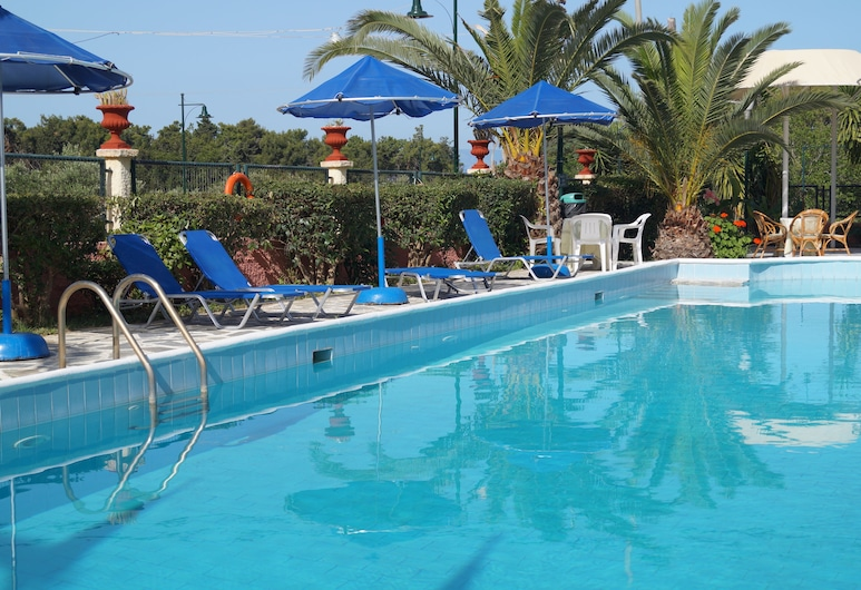 Hotel Brati - Arcoudi, Pineios, Piscina Exterior