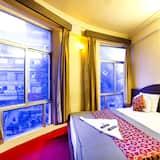 Habitación doble urbana, 1 cama individual, para fumadores, vista a la ciudad - Habitación