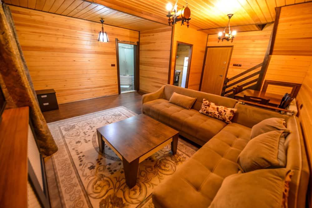 Deluxe Villa, 2 Yatak Odası - Oturma Alanı