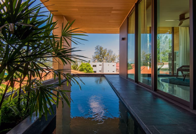 Glam Habitat Hotel, Kamala, Two-Bedroom Suite with Private Pool , Beach/Ocean View