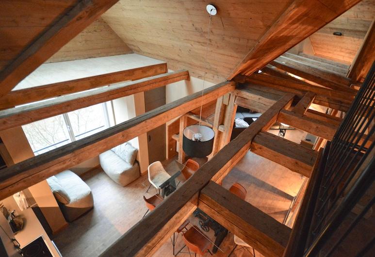 Die Hütten 550 üNN, Braunlage, Appartement, 4 chambres, sauna, Chambre