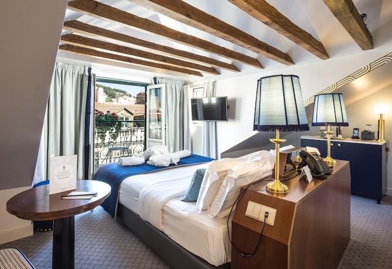 The Lift Boutique Hotel, Λισσαβώνα, Deluxe Δίκλινο Δωμάτιο (Double) (Street View), Δωμάτιο επισκεπτών