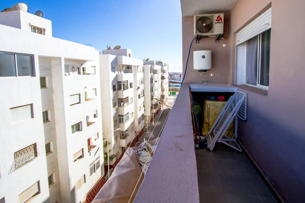 Penthouse Keluarga, 2 kamar tidur, non-smoking, dapur - Balkon