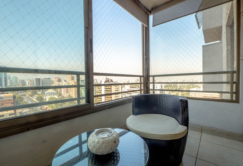 Boutique La Gloria Apartments, Santiago, Apartamento, 2 Quartos, Vista a partir das Varandas
