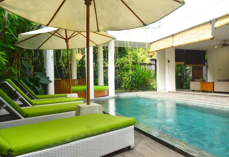 Del Mar Beach Villas-3 Bedroom Private Pool, Seminyak, Piscina externa