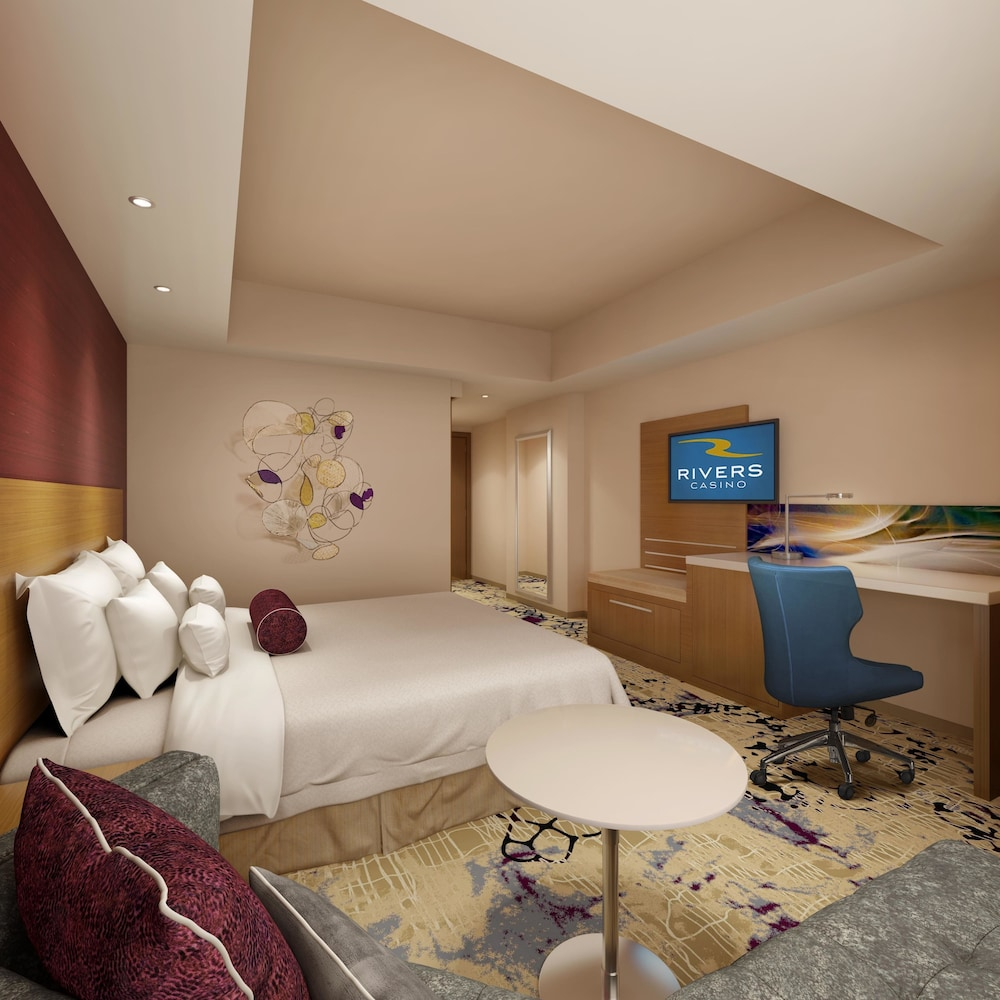 The Landing Hotel At Rivers Resort Schenectady Standard Room 1 King
