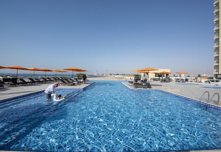 City Stay Beach Hotel Apartments, Ras Al Khaimah, Infinity-Pool