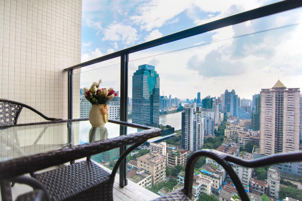 Deluxe Room, River View - Balcony