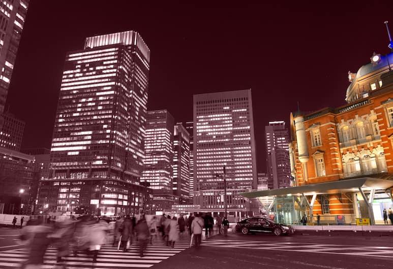 Imano Tokyo Ginza Hostel, Tokyo, Pemandangan dari Hotel