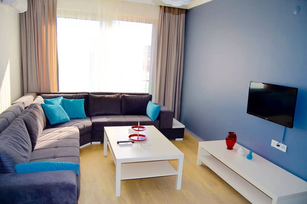 Apartemen, 2 kamar tidur - Pemandangan Kamar Tamu