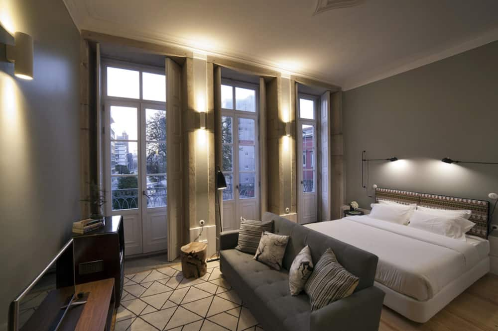 Studio, balkon - Výhled z pokoje