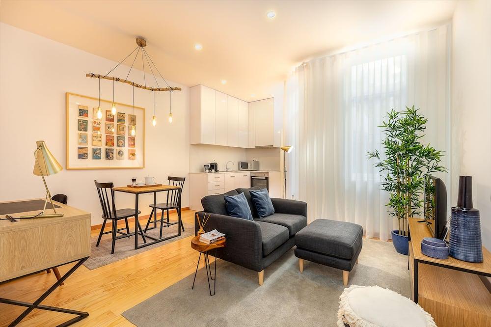 One-Bedroom Apartment 2T  - Obývací prostor