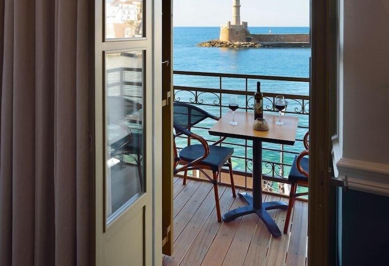 Elia Palatino Hotel, Chania, Deluxe Room, Sea View, Balcony