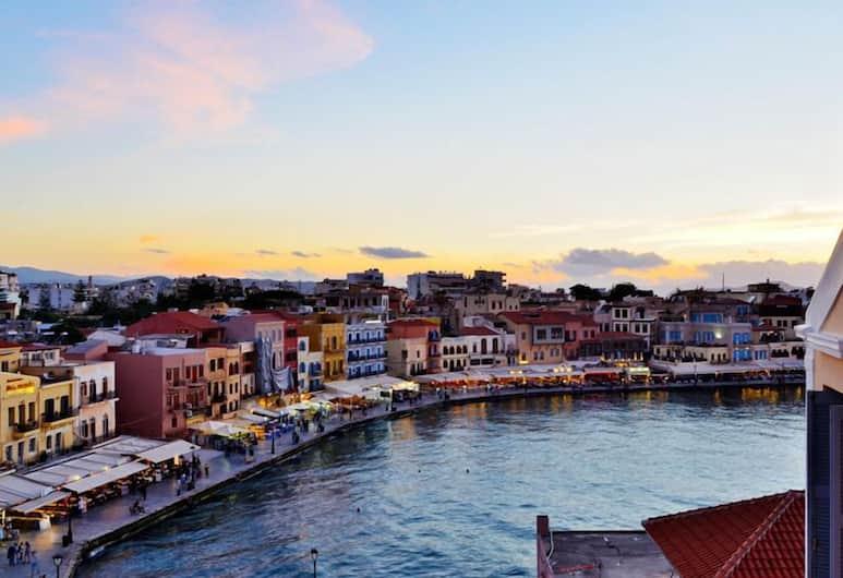 Elia Estia, Chania, Classic Suite, 1 Bedroom, Harbor View, Sea Facing, Balcony View