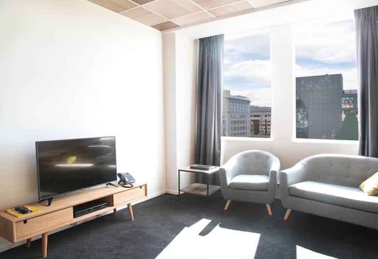 Liberty Apartment Hotel, Wellington, Standard Twin Room, Room