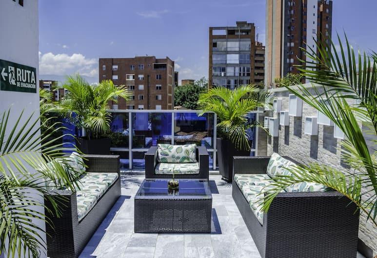 Hotel Laureles Plaza, Medellin, Balkong